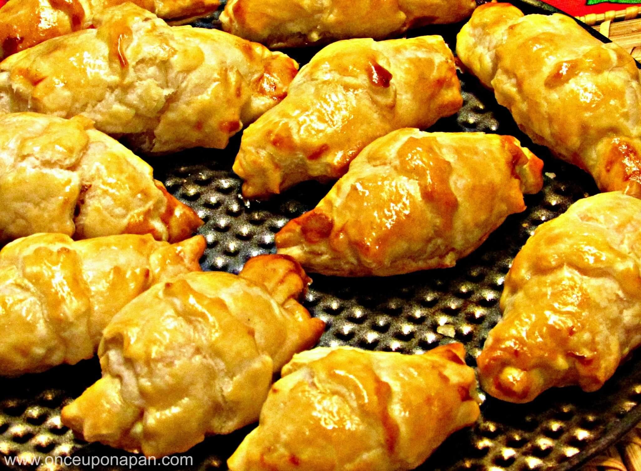 Chicken and Ricotta Croissants