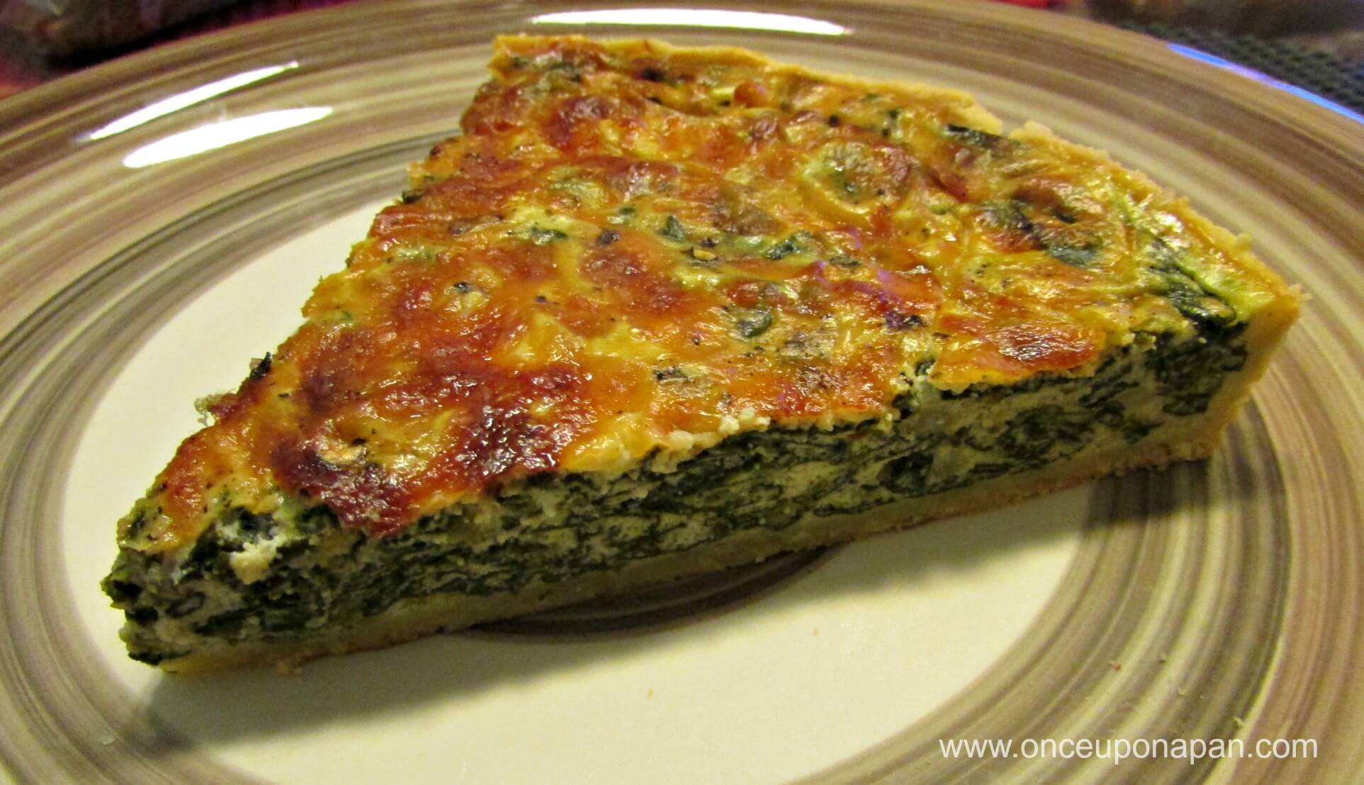 Ricotta and Spinach Quiche