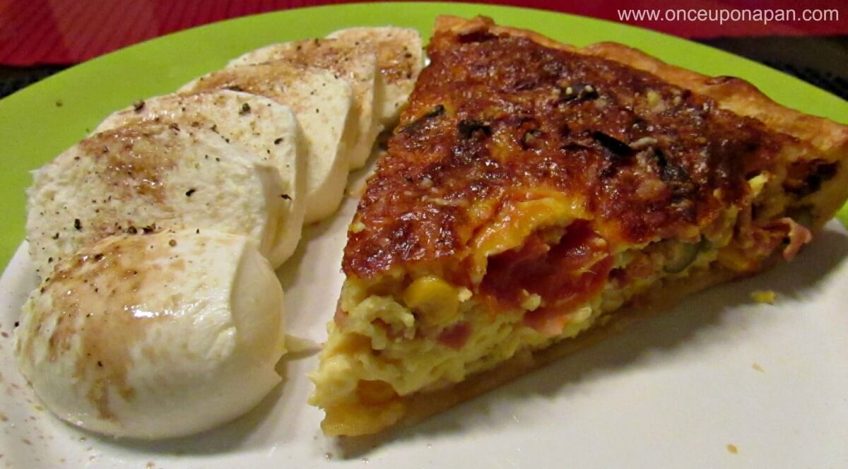 Ham and Vegetables Quiche
