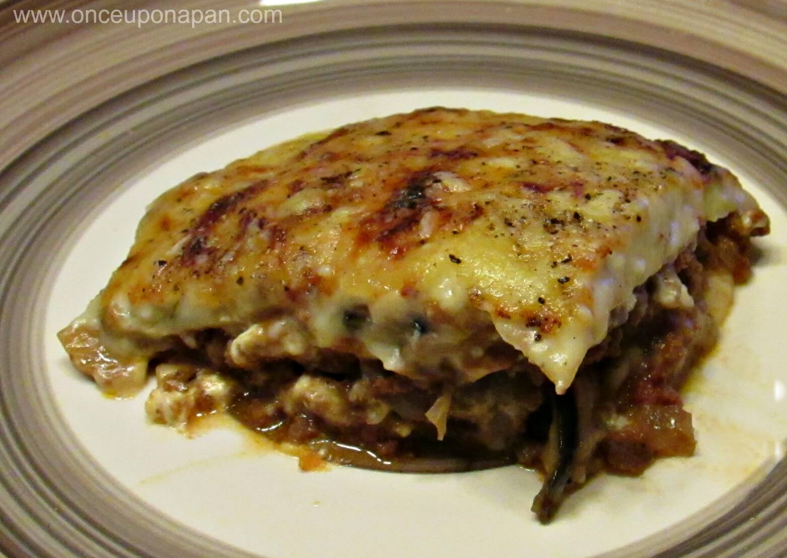 Moussaka Greek style