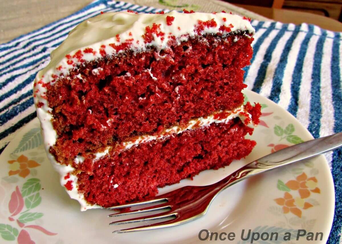 Red Velvet Cake One Pan