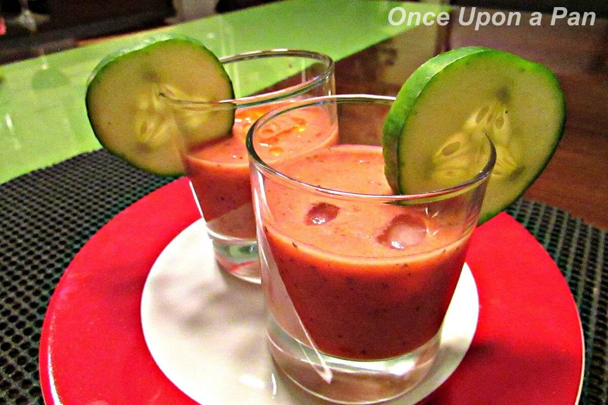 Easy Spanish gazpacho